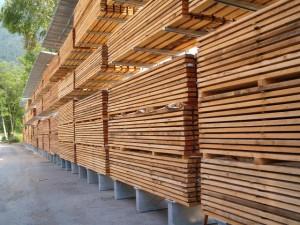 cantilever per legname con tettoia per esterno